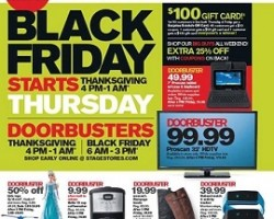 Stage Black Friday 2014 Ad