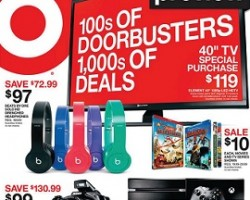 Target Black Friday 2014 Preview Ad – Beats by Dre Solo HD Drenched Headphones