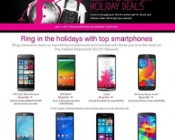 T-Mobile Black Friday 2014 Deals – Apple iPhone 6, Samsung Galaxy Note 4