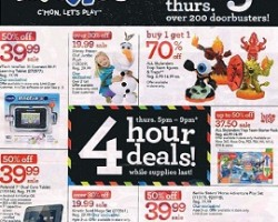 Toys R Us Black Friday 2014 Ad Sale – Crayola Fabulous Art Coloring Kit
