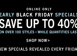 Zales Early Black Friday 2014 Specials – Up To 40% OFF Online Sale!