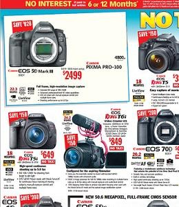 Samy's Camera Black Friday Deals, Sales