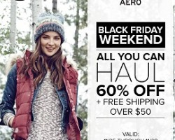 Aeropostale Black Friday Deals & Hours