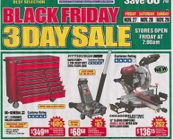 Harbor Freight Tools Black Friday Ad 2016