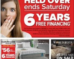 HOM Furniture Black Friday Ads, Deals 2017