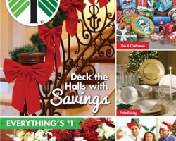Dollar Tree Holiday Catalog Savings 2015