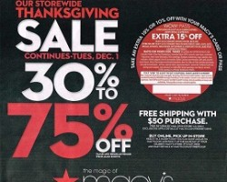 Macy's Thanksgiving Ad for 2015