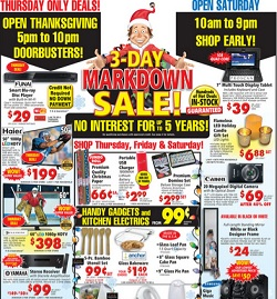 ABC Warehouse Black Friday 2015 deals
