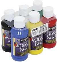 Sargent Art Primary Acrylic Paint Set