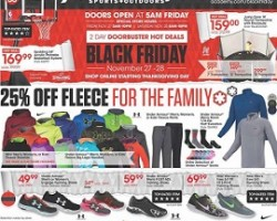 Academy Sports Black Friday Sale Ad 2015
