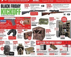 Academy Sports Pre-Black Friday Sale Ad 2015