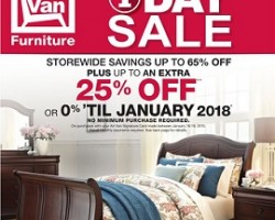 Art Van Black Friday 2015 Sale Ad