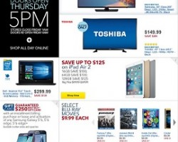 Best Buy Black Friday Sale Ad 2015