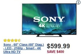 Best Black Friday Deals on HDTVs  32, 40, 50, 60, 65 and 70