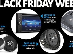 Crutchfield Black Friday Sales 2018