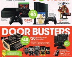GameStop Black Friday Ad 2015