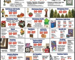 Hobby Lobby Black Friday Sale Ad 2015