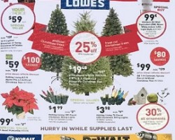 Lowe's Black Friday Sale Ad 2015