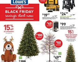 Lowe's Pre-Black Friday Sale Ad 2015