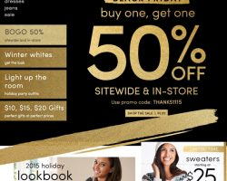 Maurices Black Friday 2017 Sale