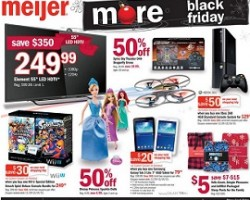 Meijer Black Friday Sale Ad 2015
