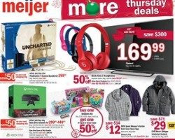 Meijer Thanksgiving Day Ad 2015