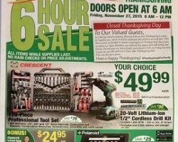 Menards Black Friday Sale Ad 2015