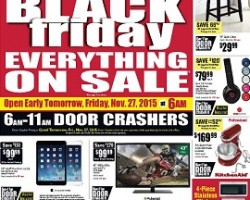 Nebraska Furniture Mart Black Friday Ad 2015 – Everything on Sale!
