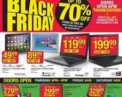Office Depot / OfficeMax Black Friday Ad 2015