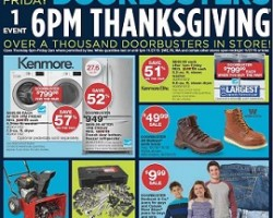 Sears Black Friday Sale Ad 2015