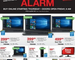 Staples Black Friday Sale Ad 2015