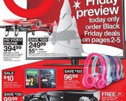 Target Black Friday Sale Ad 2015