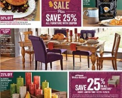 World Market Pre-Black Friday Ad 2015