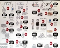 Zales Black Friday Sale Ad 2015 – Diamond Rings or Earrings