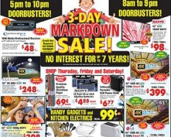 ABC Warehouse Black Friday Ad 2016