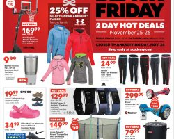 Academy Sports Black Friday Ad 2016