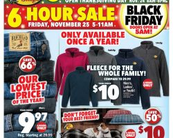 Bass Pro Shops Black Friday Ad 2016