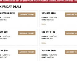 Champs Sports Black Friday Sale 2016