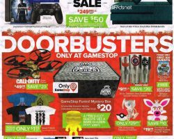 GameStop Black Friday Ad 2016