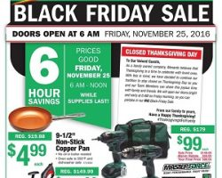 Menards Black Friday Ad 2016