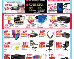 Office Depot / OfficeMax Black Friday Ad 2016