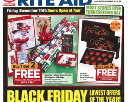 Rite Aid Black Friday Ad 2016