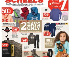 Scheels Black Friday Ad Sale 2016