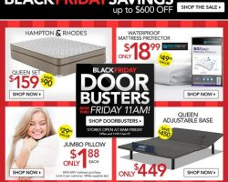 Sleepy's Black Friday Deals & Sales 2016