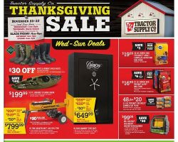 Tractor Supply Black Friday Ad 2016