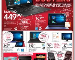 Office Depot / OfficeMax Black Friday Ad 2017