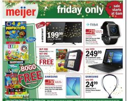 Meijer Black Friday Sale Ad 2017