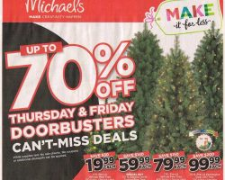 Michaels Black Friday Ad 2017