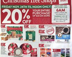 Christmas Tree Shops Black Friday Ad 2017
