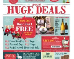World Market Black Friday Ad 2017